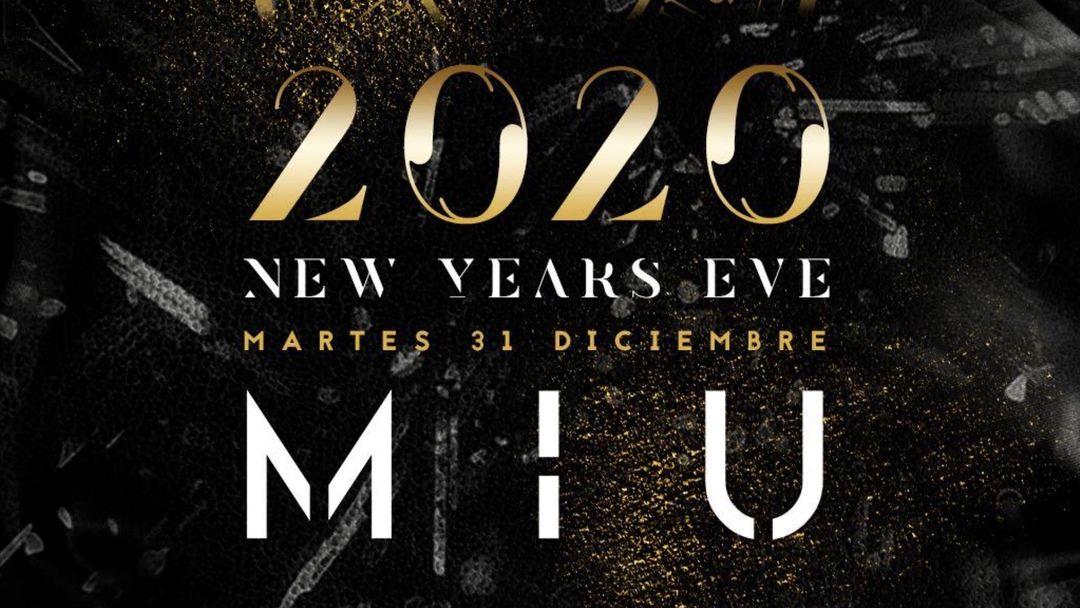 Couverture de l'événement NEW YEARS EVE martes 31 diciembre