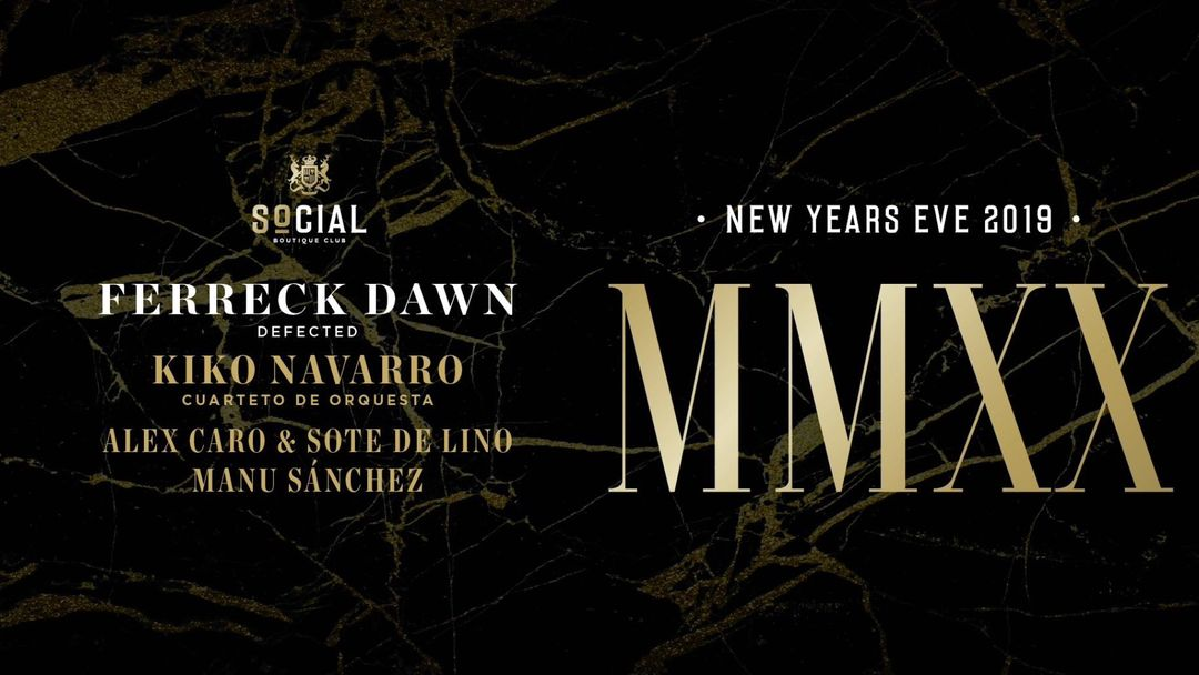 New Years Eve MMXX event cover
