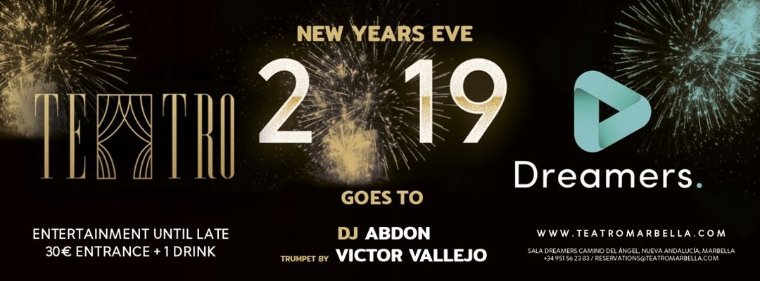 New Year's Eve Party-Eventplakat