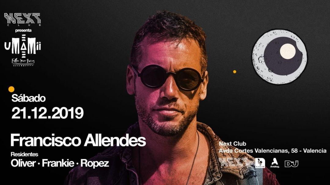 Next Club presents UMAMII | Francisco Allendes event cover