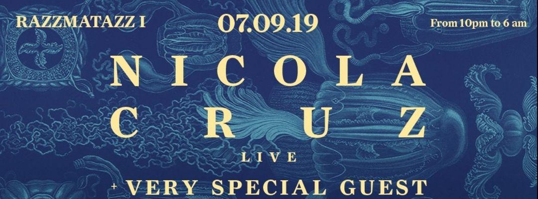 Cartel del evento Nicola Cruz LIVE
