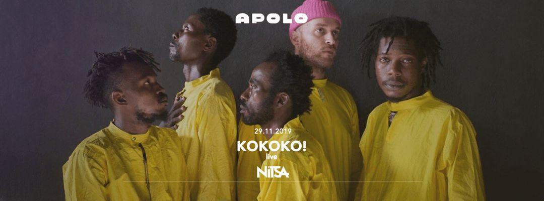 Nitsa Club: KOKOKO! live event cover