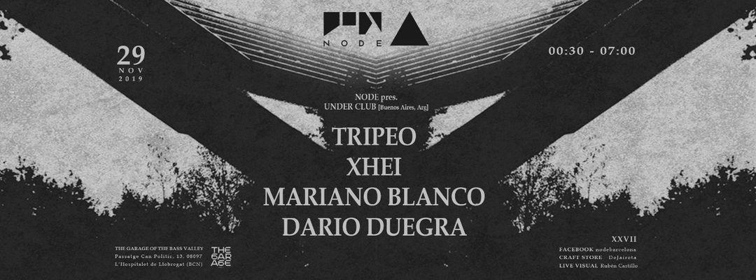 Capa do evento NODE pres. Under Club [Buenos Aires] Showcase
