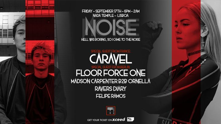 Cover for event: Noise #2 W/ Caravel (FR) & Floor Force One (DE)