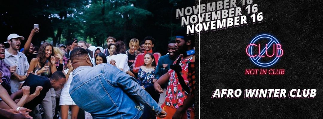 NOT IN CLUB présente AFRO WINTER CLUB event cover