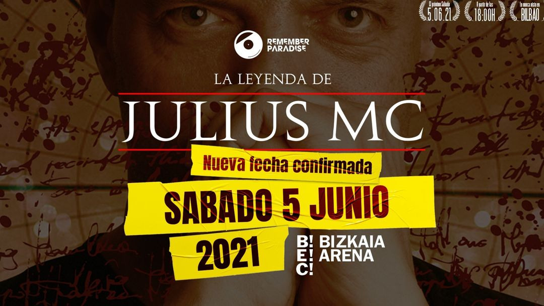 Copertina evento REMEMBER PARADISE: LA LEYENDA DE JULIUS MC