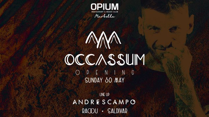 Cover for event: OCCASSUM - Opening with Andres Campo