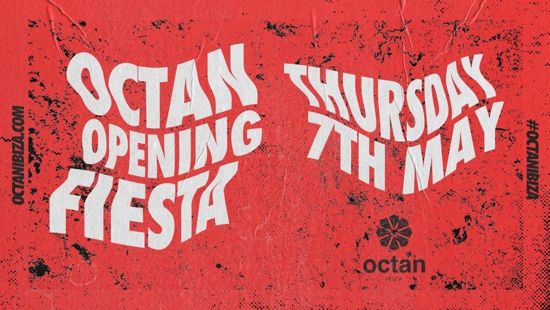 Cartell de l'esdeveniment Octan Ibiza Opening Fiesta 2020