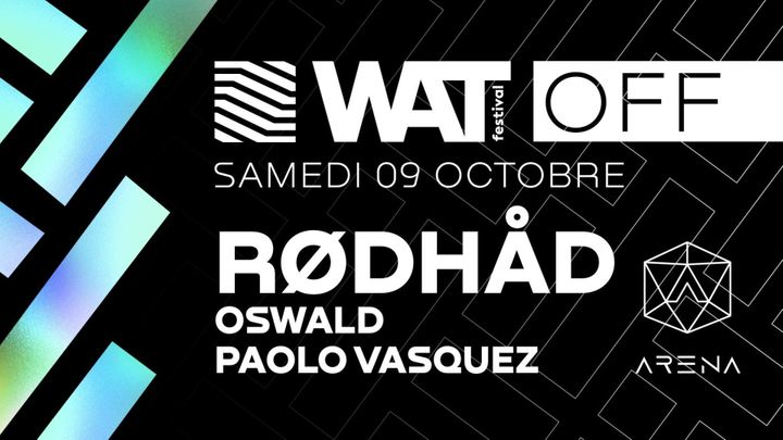 Cover for event: Off W.A.T Festival w/ Rødhåd (Extended set)