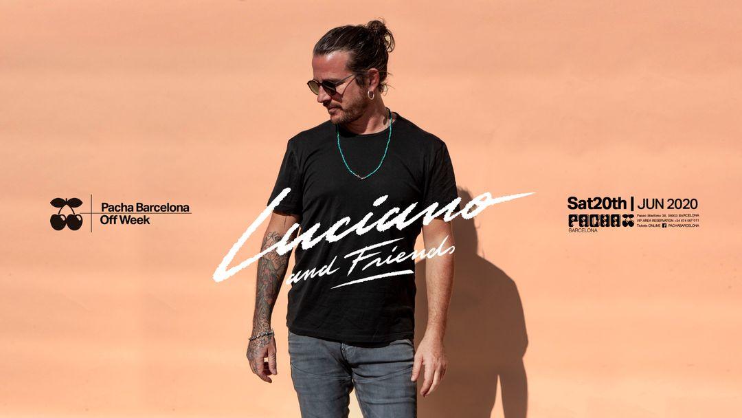 Cartell de l'esdeveniment OFF WEEK | Luciano & Friends