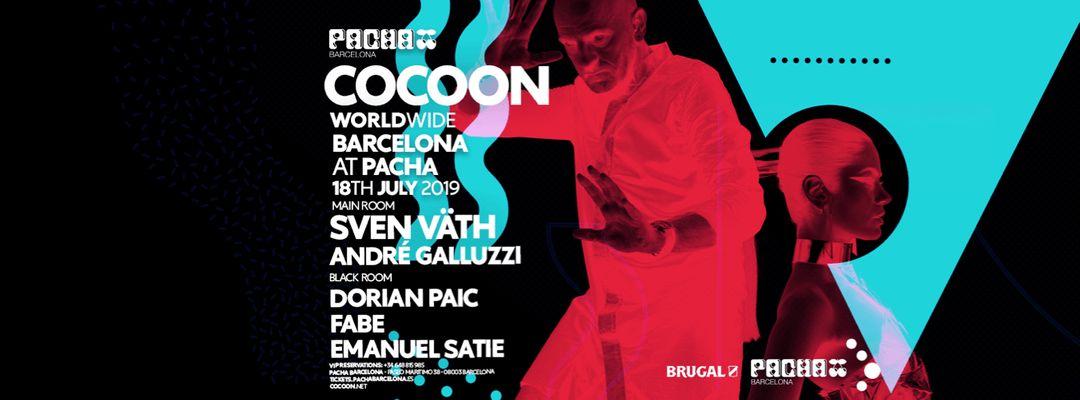 Cartel del evento OFF WEEK pres. COCOON