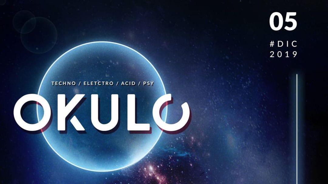 Cartel del evento OKULO 5 DICIEMBRE