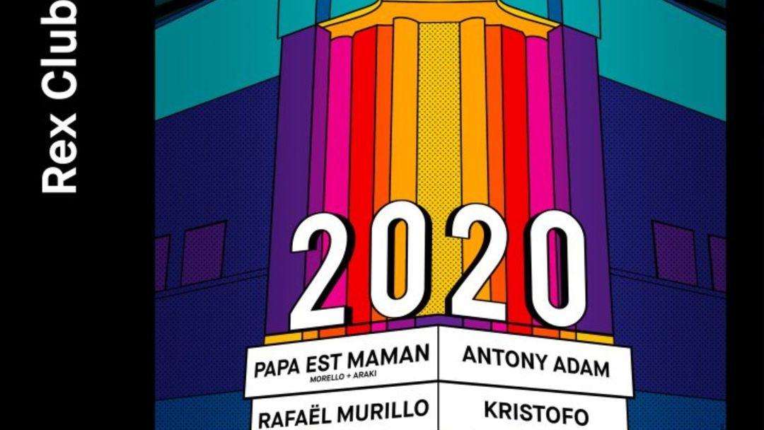 Capa do evento One More: Kristofo, Antony Adam, Rafaël Murillo, Papa est Maman