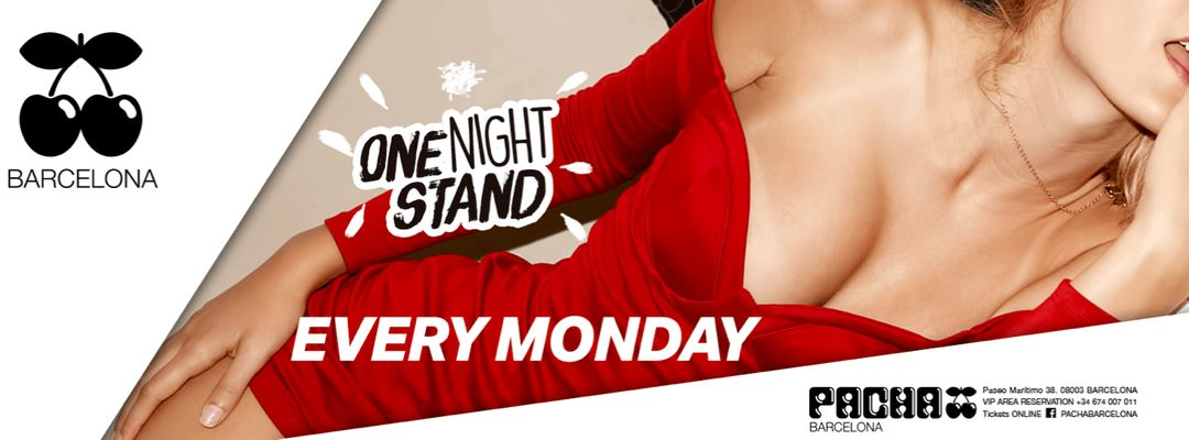 Capa do evento One Night Stand | Every Monday
