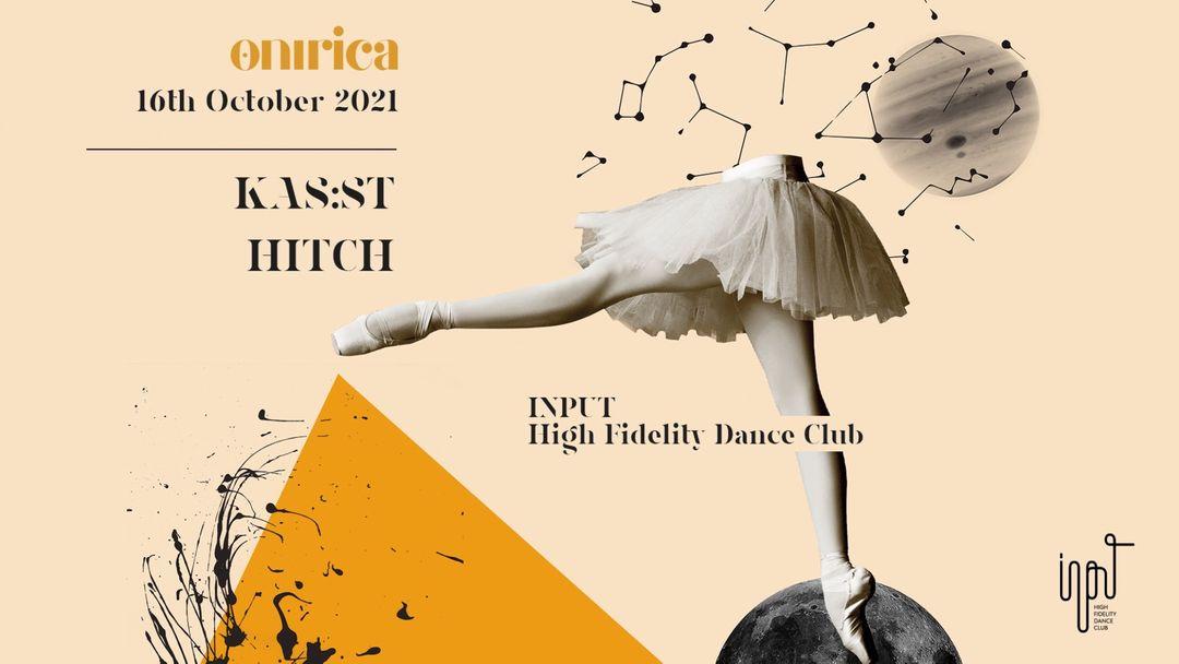 ONíRICA pres KAS:ST event cover
