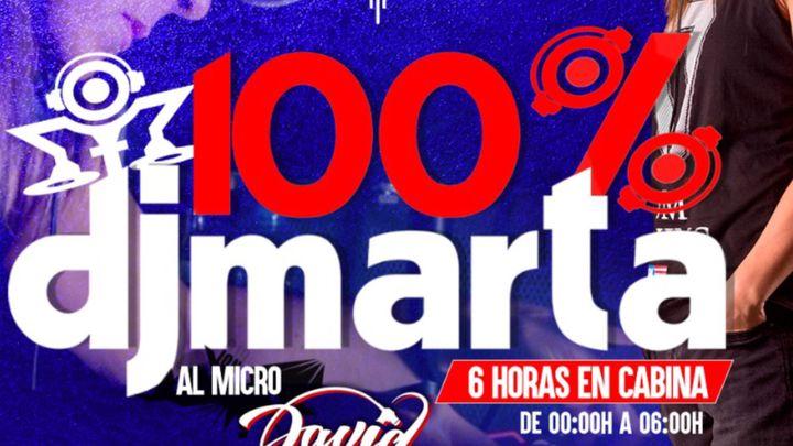 Cover for event: DJ MARTA LUNES 11 OCTUBRE