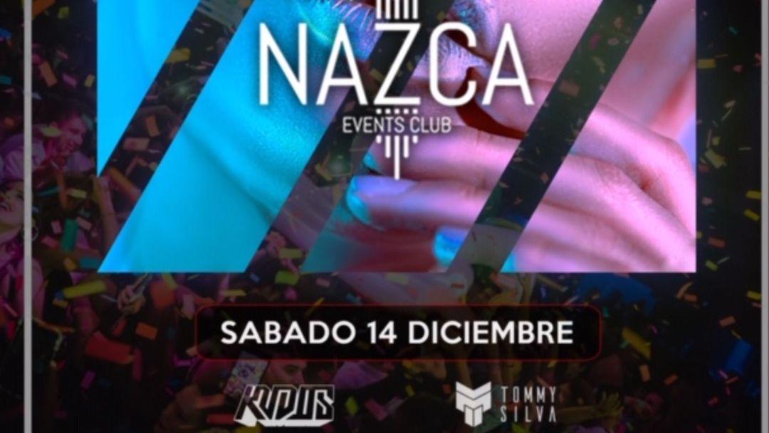 Couverture de l'événement ONLY NAZCA sábado 14 diciembre