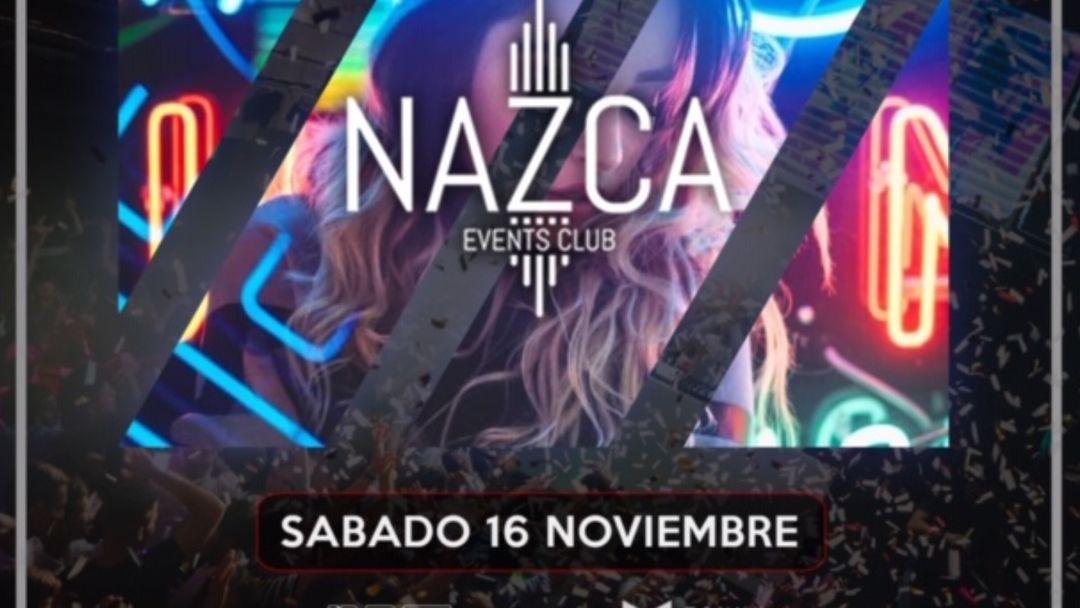 ONLY NAZCA sábado 16 noviembre event cover