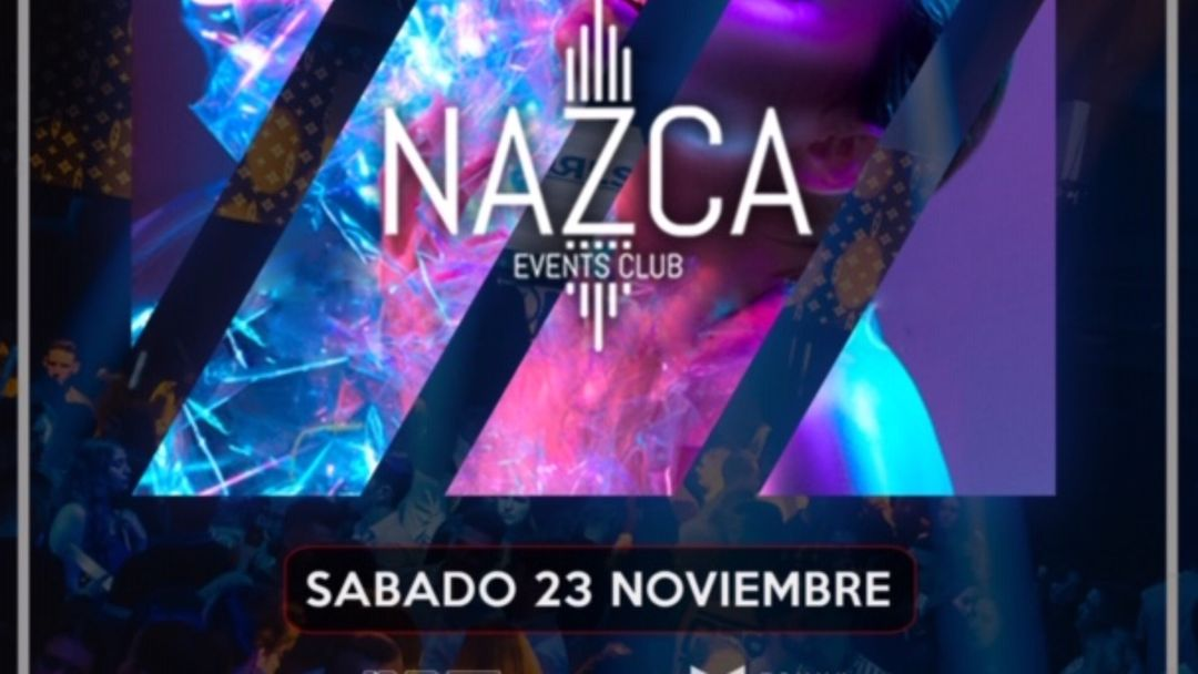 ONLY NAZCA sábado 23 noviembre event cover