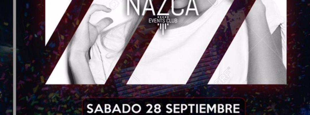 ONLY NAZCA sábado 28 septiembre event cover