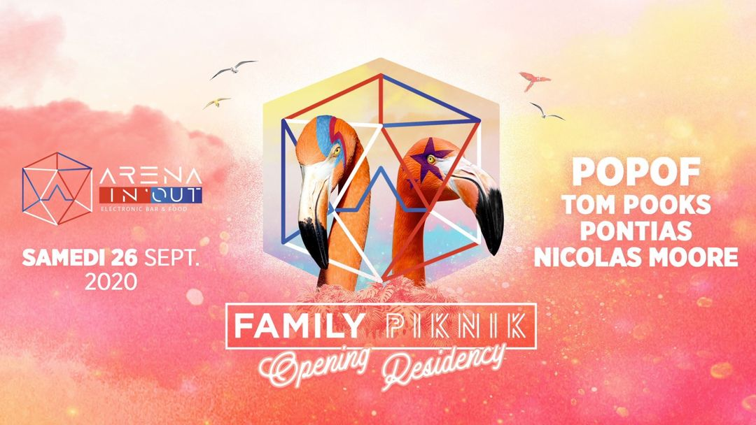 Cartel del evento [ANNULÉ] | Arena In'Out x Family Piknik