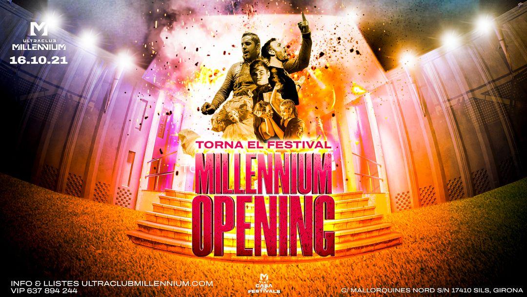 Cartel del evento OPENING DE TEMPORADA