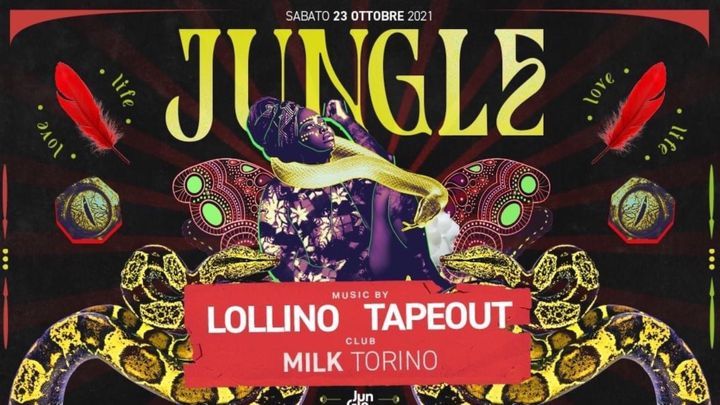 Cover for event: Opening Party JUNGLE - Milk Torino