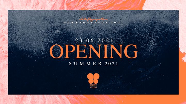 Cover for event: Opening Party |Papillon Platja D'Aro