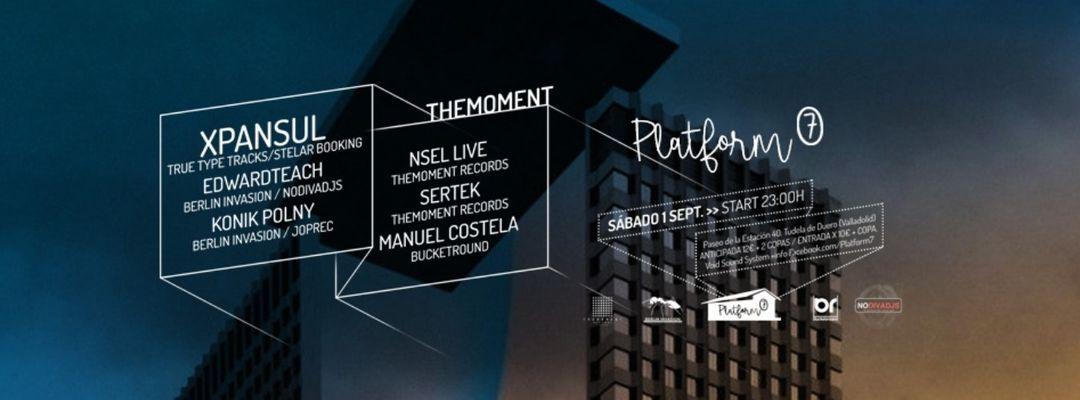 Cartel del evento Opening Season / Sabado 1 de Septiembre / THEMOMENT