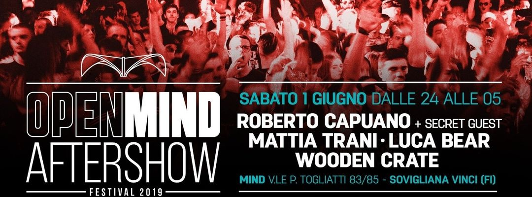 Cartel del evento Openmind Official Aftershow | Mind Club