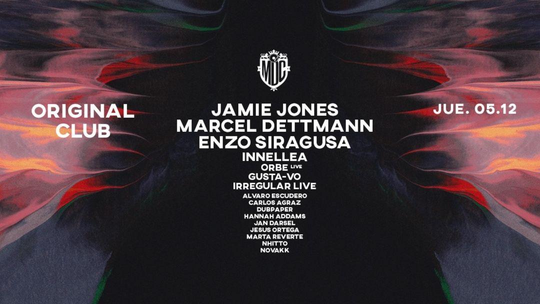 Original Club :: Metro Dance Club :: 5 Dic :: Jamie Jones & Marcel Dettmann event cover