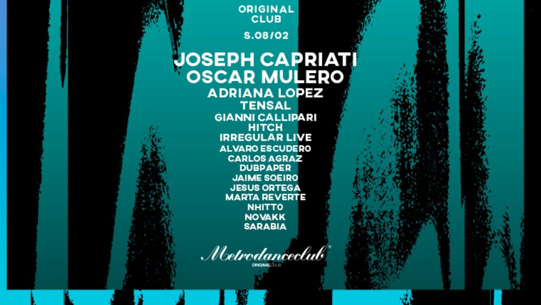 Original Club :: MetroDanceClub :: 8 de febrero-Eventplakat