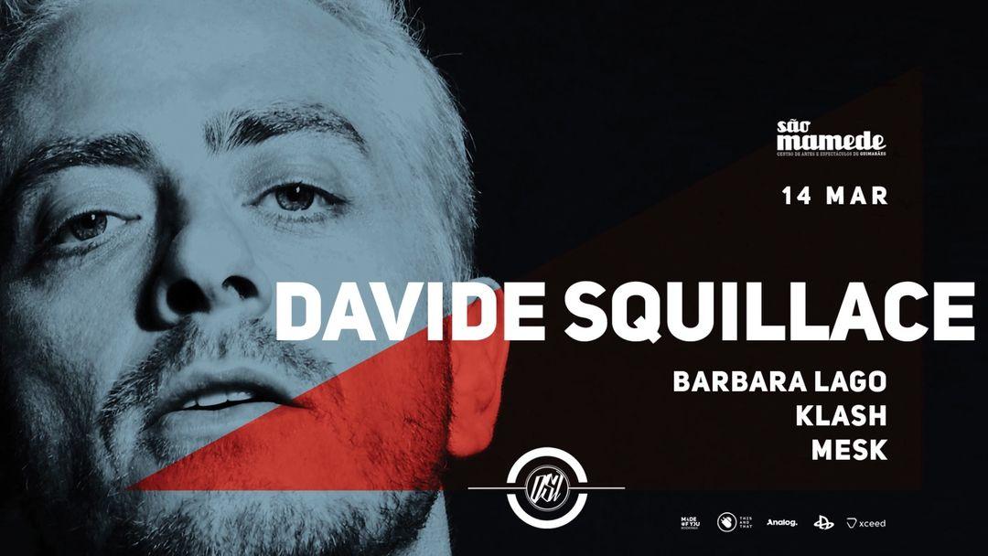 OSI presents: Davide Squillace-Eventplakat