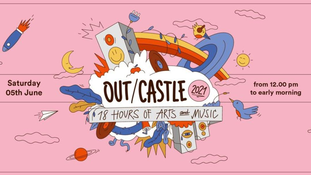 Out/castle 2021-Eventplakat