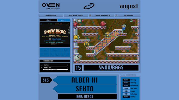 Cover for event: Oven 360 -Sexto, Alber Hi.