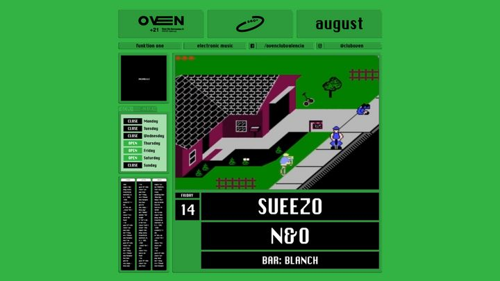 Cover for event: Oven 360 -Sueezo,  N&O
