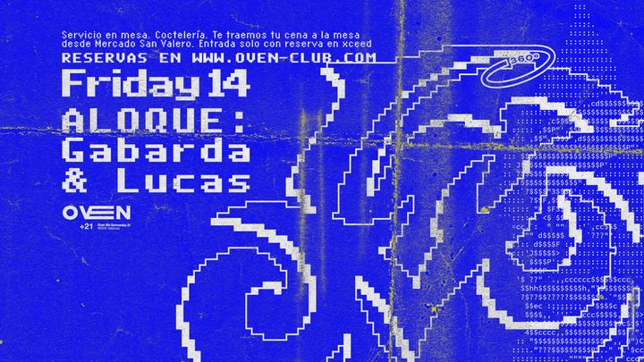 Cover for event: Oven Club: ALOQUE - Gabarda + Lucas