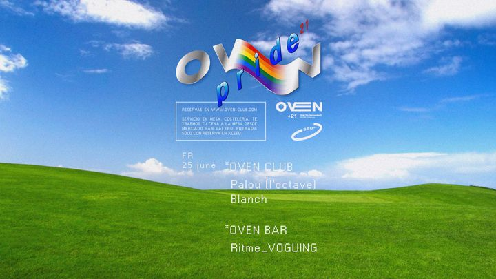 Cover for event: Oven club: BLANCH + PALOU