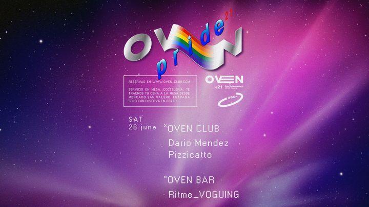 Cover for event: Oven club: Dario Mendez + Pizzicato