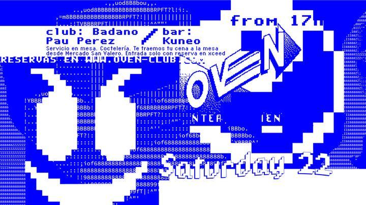 Cover for event: Oven club: PAU PEREZ + BADANO