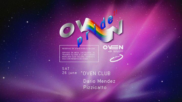 Cover for event: Oven club: Pizzicatto + Dario Mendez