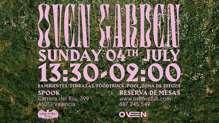 Cover for event: OVEN GARDEN - SUNDAY