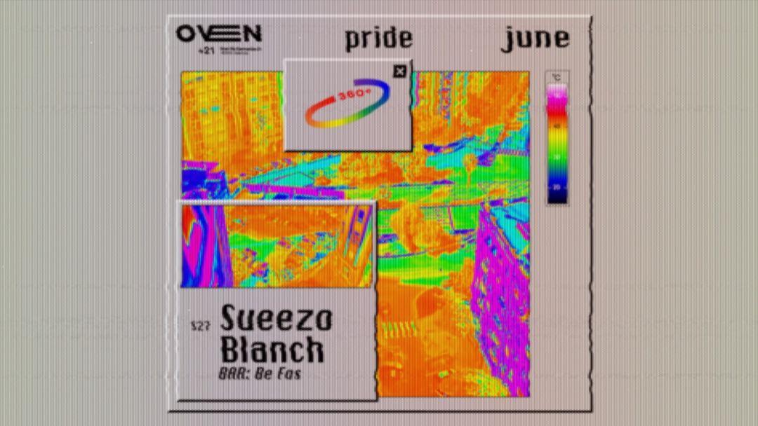 Cartel del evento Oven - Sueezo + Blanch