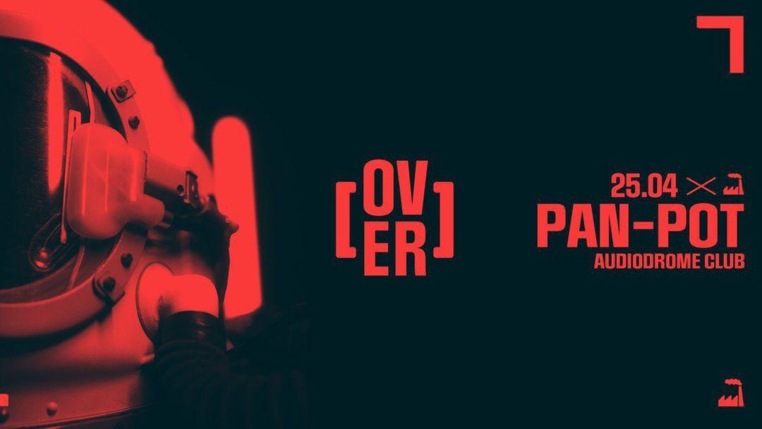 Cartel del evento OVER presenta PAN-POT