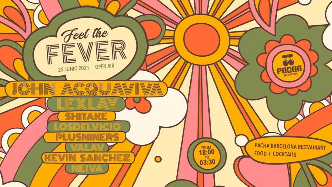 Copertina evento Pacha Barcelona pres. FEEL THE FEVER