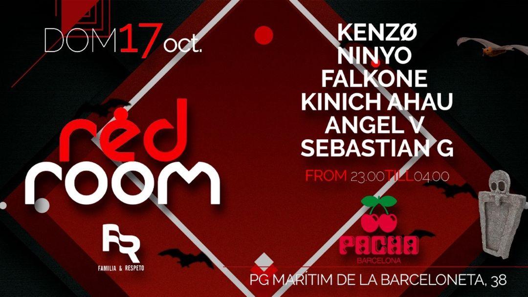 Cartel del evento Pacha Barcelona pres. FR