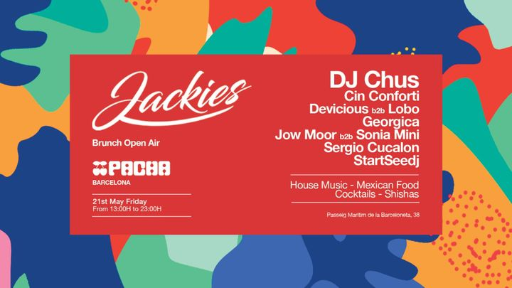 Cover for event: Pacha Barcelona pres. JACKIES