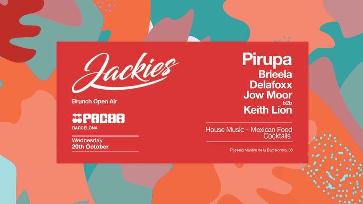 Cover for event: Pacha Barcelona pres. JACKIES w/ Piero Pirupa