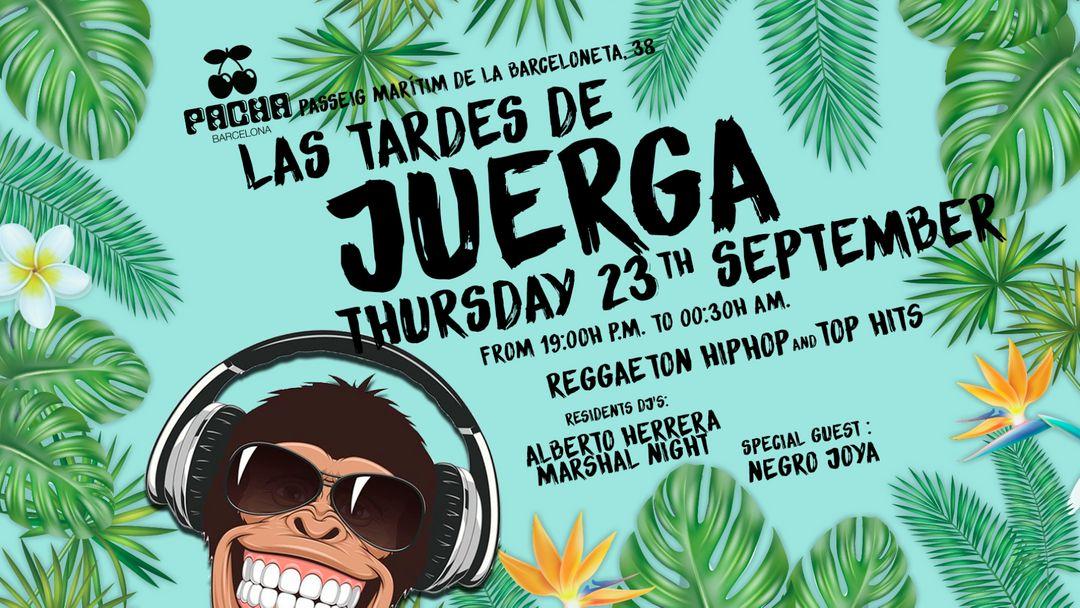 Pacha Barcelona pres. LA JUERGA event cover