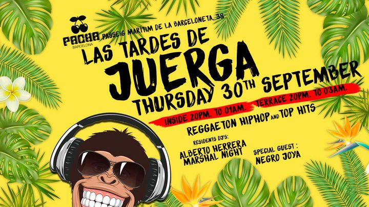 Cover for event: Pacha Barcelona pres. LA JUERGA